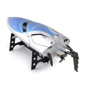 Image 4 - Ad Alta Velocità di 30Km/H Rc Barca 4CH 2.4 Ghz 4 Canali da Corsa da Corsa di Controllo Remoto Barca Barca da Pesca Giocattoli per I Bambini Hobby Regali