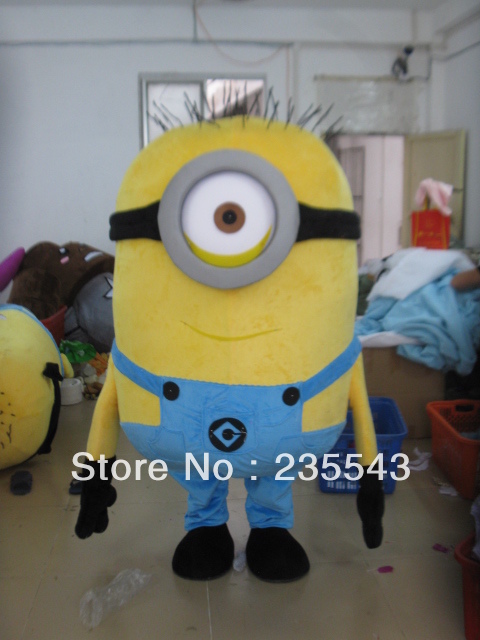 Adult one eye minion mascot costume for sale Despicable Me-in Anime Costumes from Novelty u0026 Special Use on Aliexpress.com | Alibaba Group & Adult one eye minion mascot costume for sale Despicable Me-in Anime ...