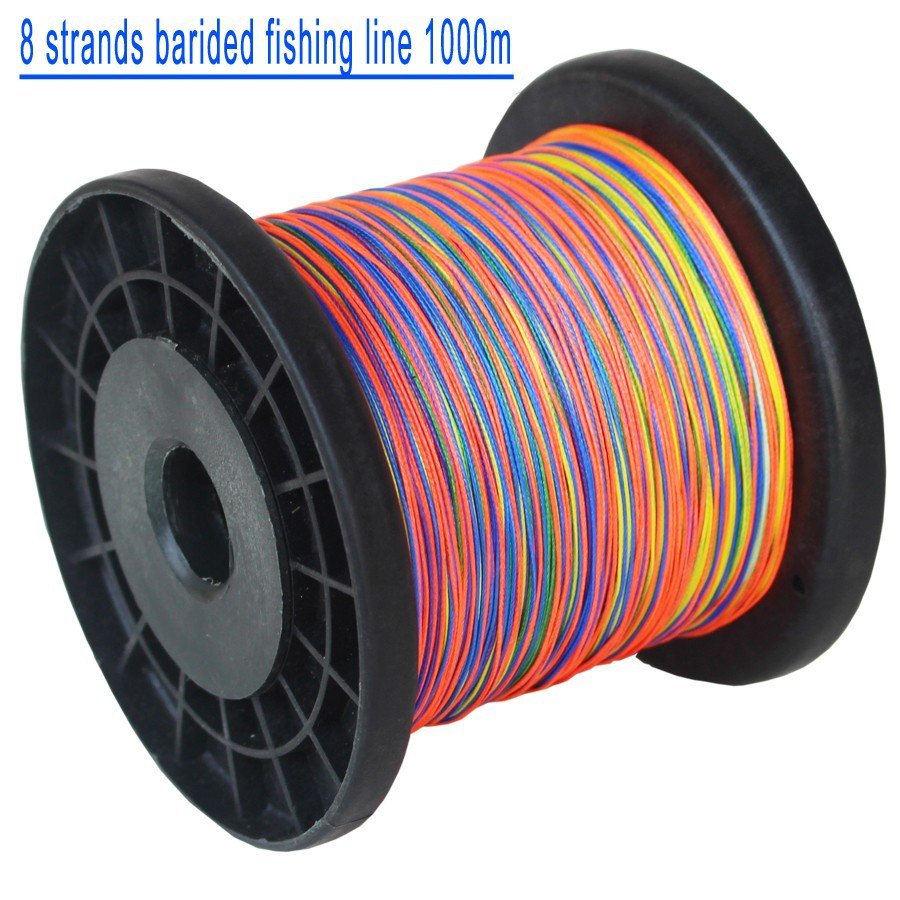 8 strands braided fishing line 1000mm
