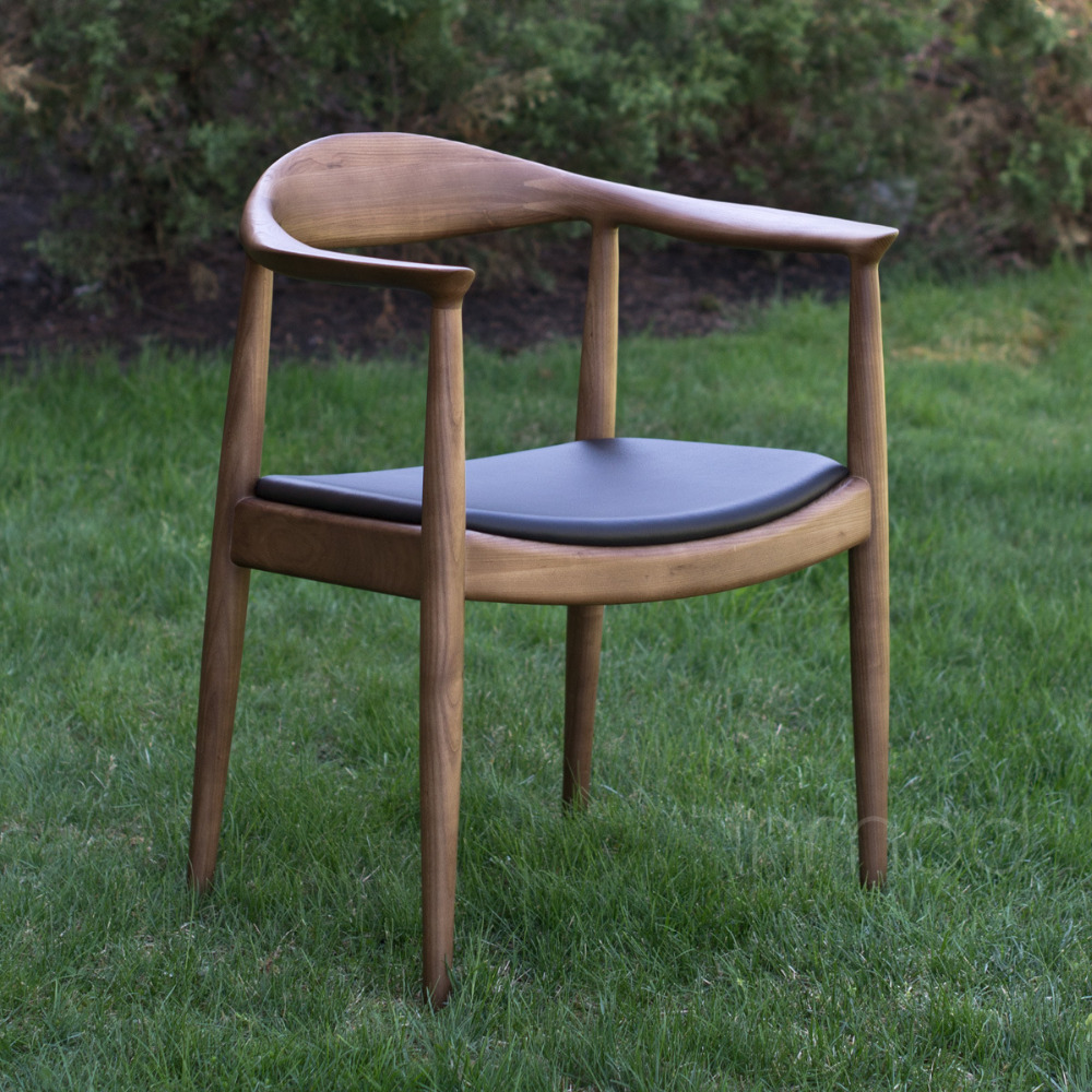 Top Quality Soild Wood Hotel Chairs Panel Chairs VIP Chair President Chair