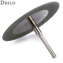 DRELD 50mm Carbon Staal Diamant Slijpschijf Slijpschijf Zaagblad voor Dremel Accessoires Elektrische Rotary Gereedschap Schurende Schijf