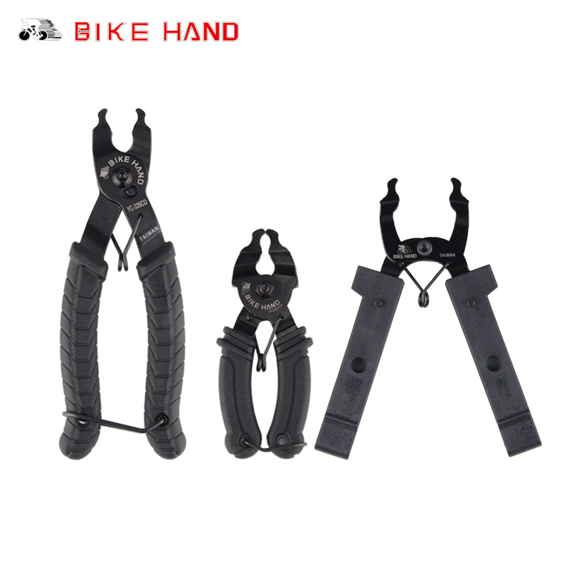 Bike Hand Bicycle Master Link Tool Chain Quick Link Open Close Tool Bike Chain Plier Cycling Chain Magic Button Clamp Remove Kit