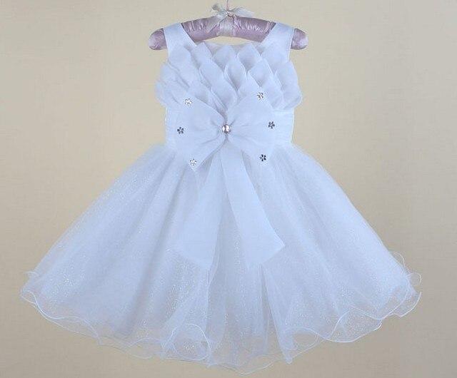 Девочка свадьба одежда младенцы платье