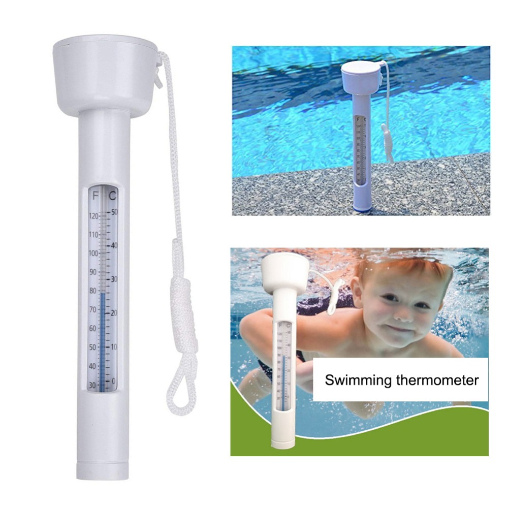 Floating Swimming Pool Thermometer For Pools And Spas Easy To Read Outdoor/Indoor Swimming Pools, Hot Tub, Aquariums