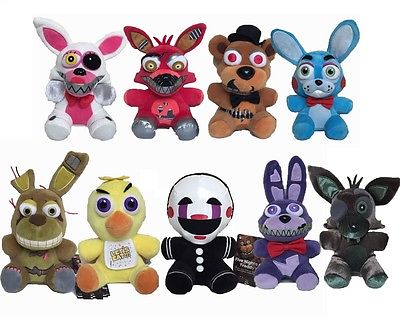 Five Nights at Freddy's FNAF Horror Game 7inch Plush Dolls Kids Plush Toy Gift Cute Animal Plush Mini Soft Toys image