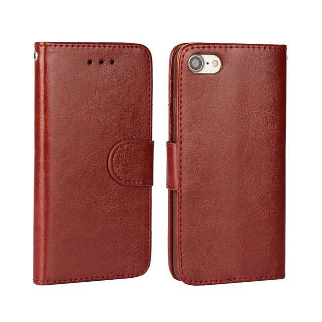 Leather Wallet Case For Apple iPhone 7