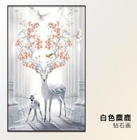 2017 New DIY 5d Diamond Embroidery Animals Icons Diamond Painting Deer Diamond Mosaic Cross Stitch The