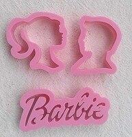 Design WDBS004 Barbie Sugar Mold Biscuits Mold Cake Decoration Tool