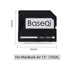 """Image 2 - BaseQi Micro SD Adapter pcmcia card for MacBook Air 13"""" memory stick pro duo adapter compact flash adapter card reader sd card"""