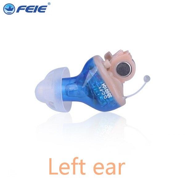 FEIE mini cic hearing machine clean S-17A audifonos para sordos digitales ear machine for deaf free shipping feie s 12a mini digital cic hearing aid as seen on tv 2017 aparelho auditivo digital earphone hospital free shipping