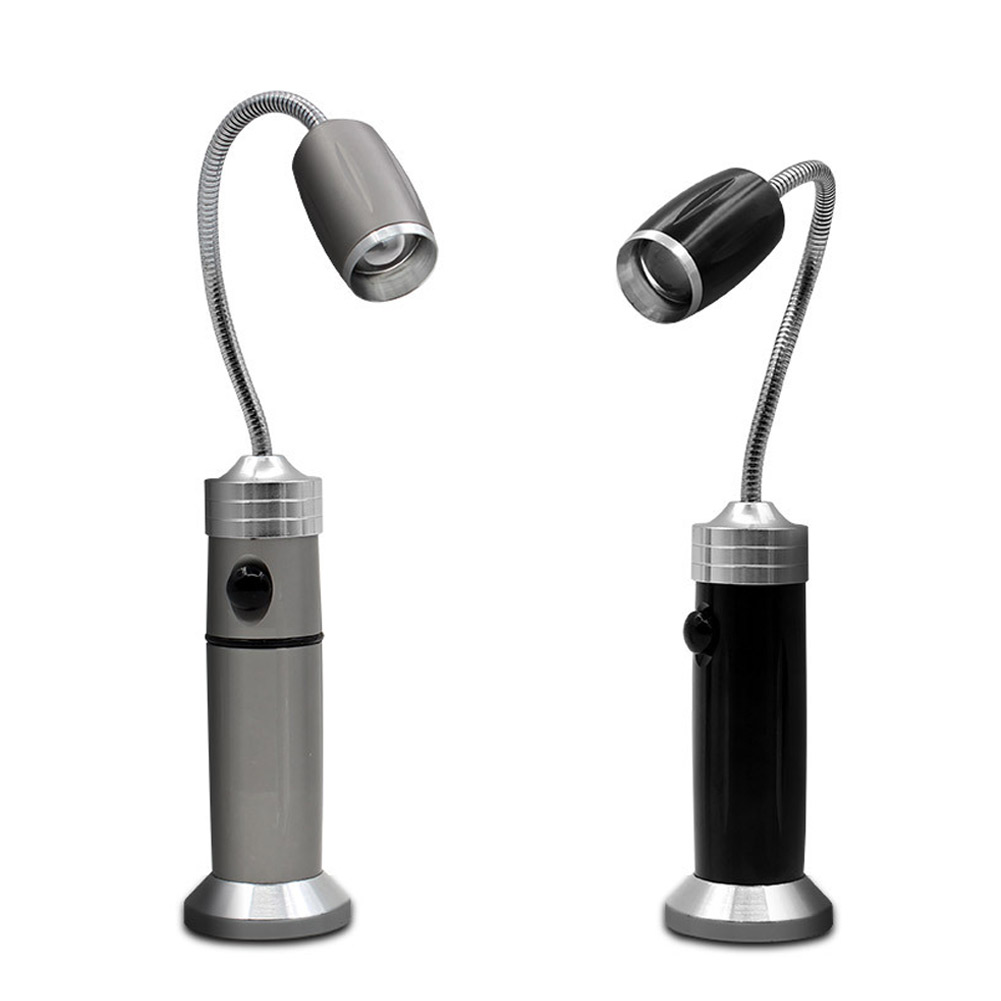 LED Strong Light Torch Flexible Magnetic Pick Up Finding Searching Tool Light Lamp Flashlight DAG-ship