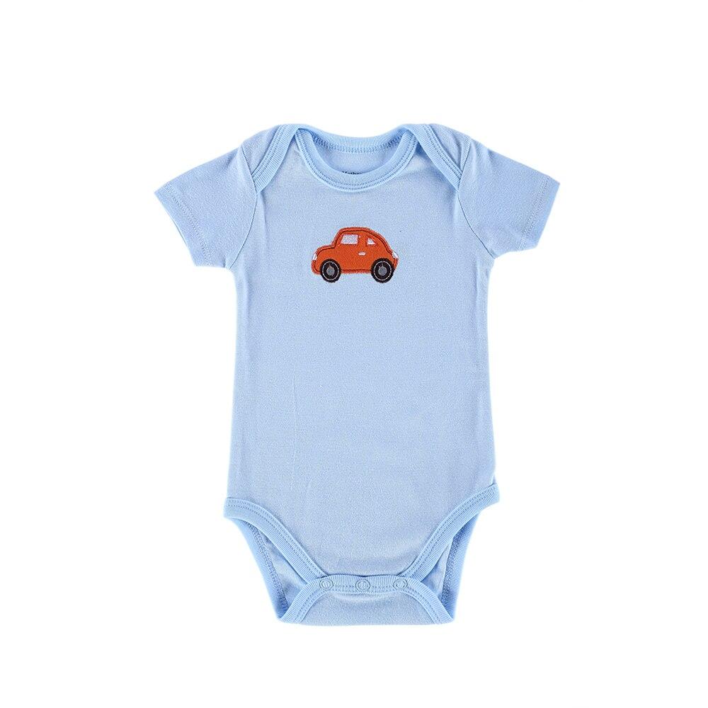 Mother Nest New Style Baby Bodysuits 5 Pcs/lot Newborn Jumpsuit Baby Girls Bodysuit Short Sleeves Body Baby Clothing Set
