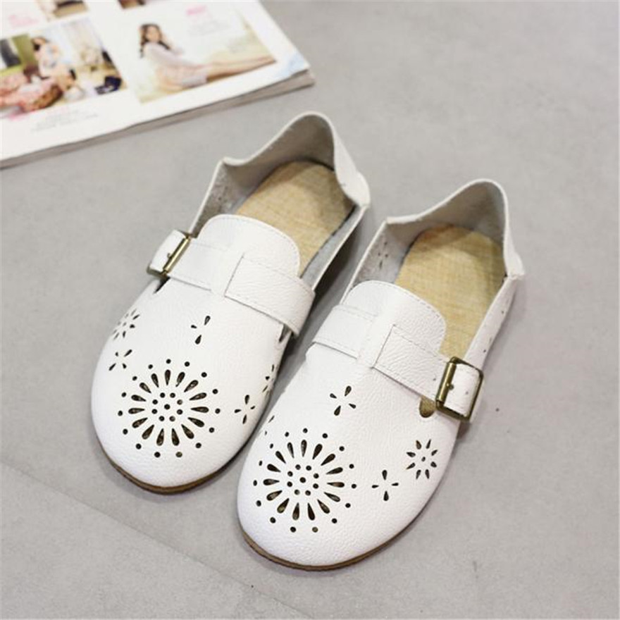 Fashion High Quality Women Flats Shoes Slip On Comfort Shoes Flat Shoes Loafers women leather shoes zapatos mujer cresfimix zapatos women cute flat shoes lady spring and summer pu leather flats female casual soft comfortable slip on shoes