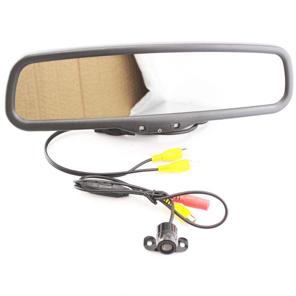 Parking Car Rear View Camera Mirror Monitor With Special Bracket For 93 Gm Wiring Toyota Highlander Rav4 Carola Yaris Verso Crown Prado Gamay In Vehicle From
