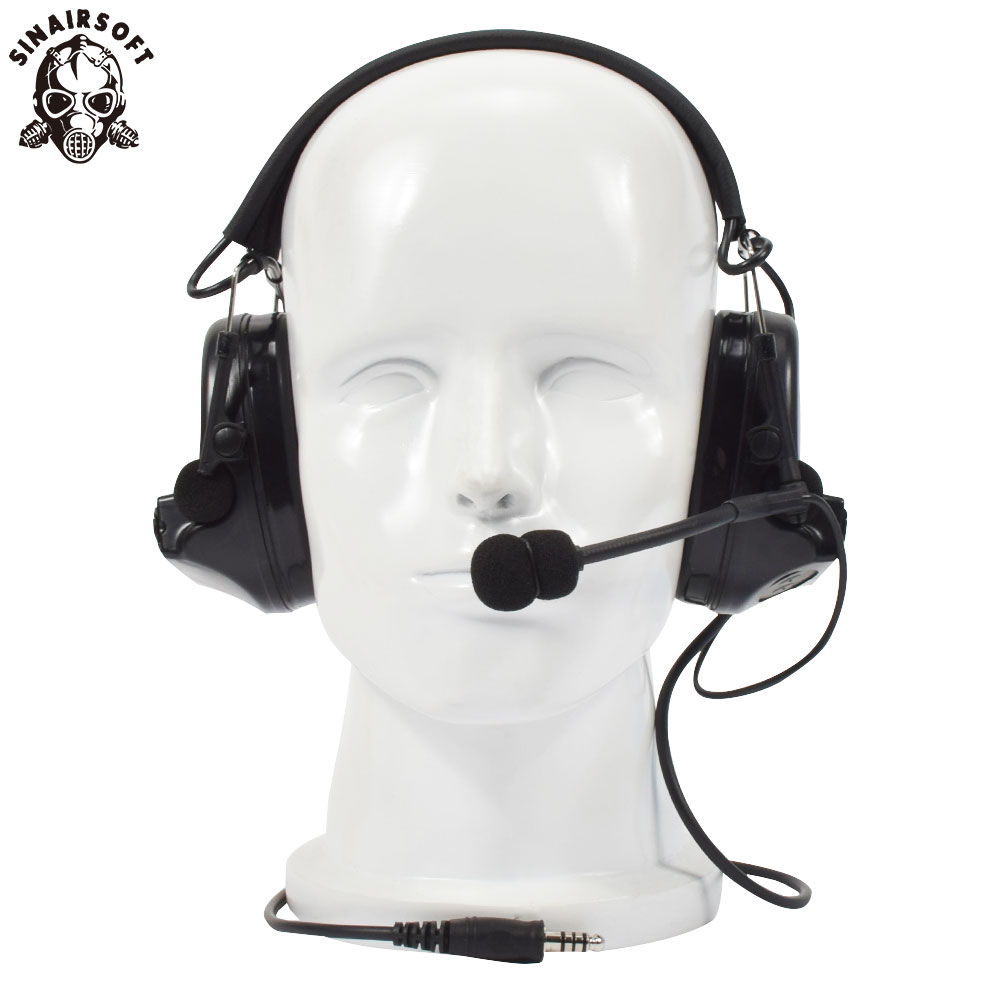 SINAIRSOFT Z-tactical Sordin Tactical Headsets Airsoft Comtac Z 041 ZComtac II Headset Style Helmet Noise Canceling Headphone цены