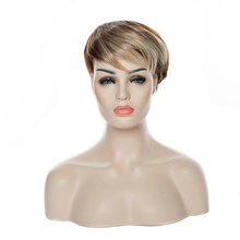 HAIRJOY Women Synthetic Hair Wig Short Straight  Wigs 10 Colors Available
