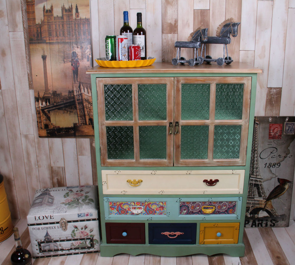 american country style loft industrial retro wood to do the old lockers drawers cabinet drawer storage american country style loft