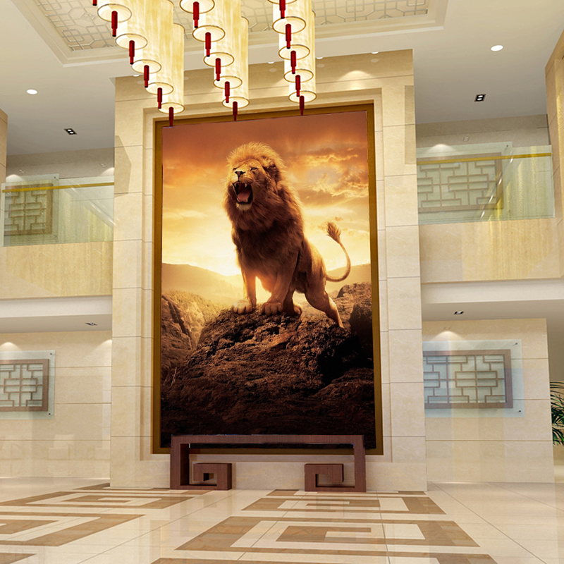 Animal lion Resin Diamond Painting Diamond embroidery square Diamond Mosaic Craft Cross Stitch DIY Needlework 2016 new Fashion
