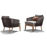 Высокое качество 100% деревянный открытый досуг диван из ротанга Крытый диваны, удобные садовые диваны из ротанга мебель продукты