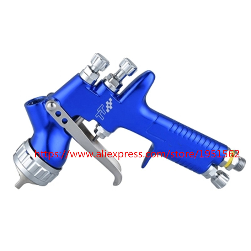 SPRAY GUN  TT pro England DEV  Professional Spray Gun 1.3mm LVLP Gravity Feed free shipping car face paint high quality projector lamp poa lmp31 610 289 8422 610 285 2912 for plc sw10 plc xw15 plc sw15 plc xw10 plc sw10b