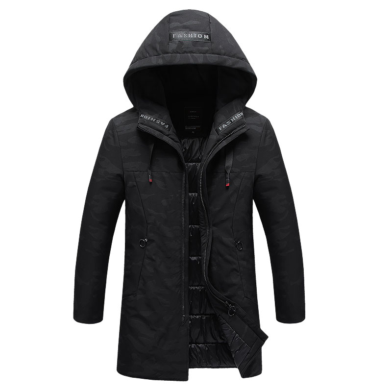 Warm Sport Jas Mannen Dikker Parka 7xl 8xl Plus Size Winter Jas Man Lange Stijl Windjack Thermische Outdoor Workout Run Jas