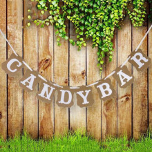 decoración candy bar boda RETRO VINTAGE