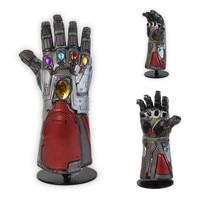 The Avengers 4 Endgame Marvel Superhero Hulk Cosplay Arm Thanos Latex Gloves Iron Man Infinity Gauntlet Kids Adult Cosplay Prop