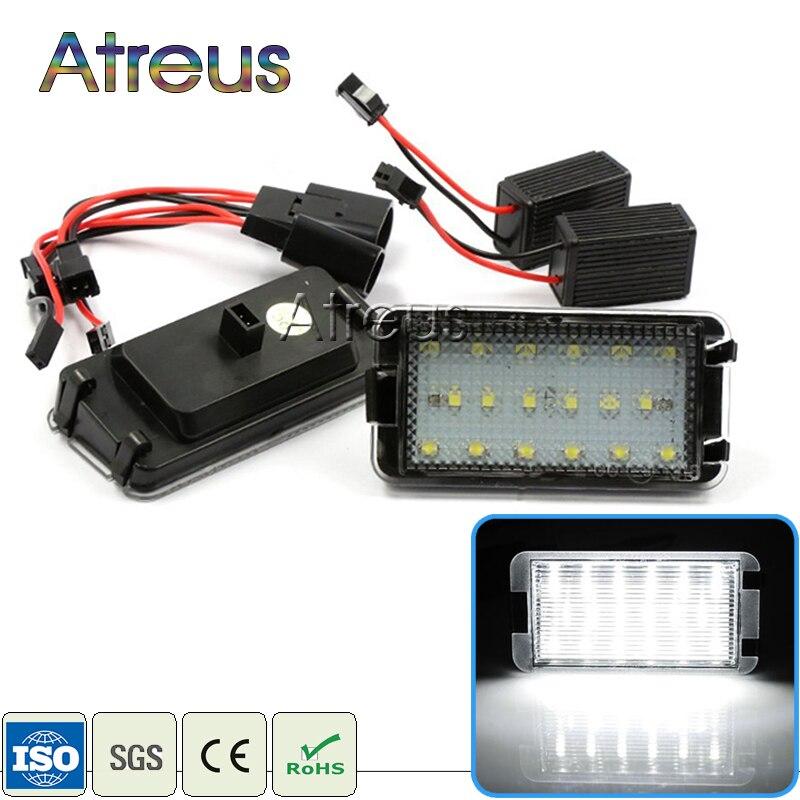 Atreus autós LED rendszámtábla világítás 12V üléshez Leon - Autó világítás