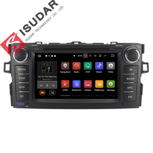 Android 7.1.1 два DIN 7 дюймов dvd-плеер для toyota/Auris/Альтис Corolla 2012 2013 Оперативная память 1 г/2 г WI-FI gps-навигация радио USB