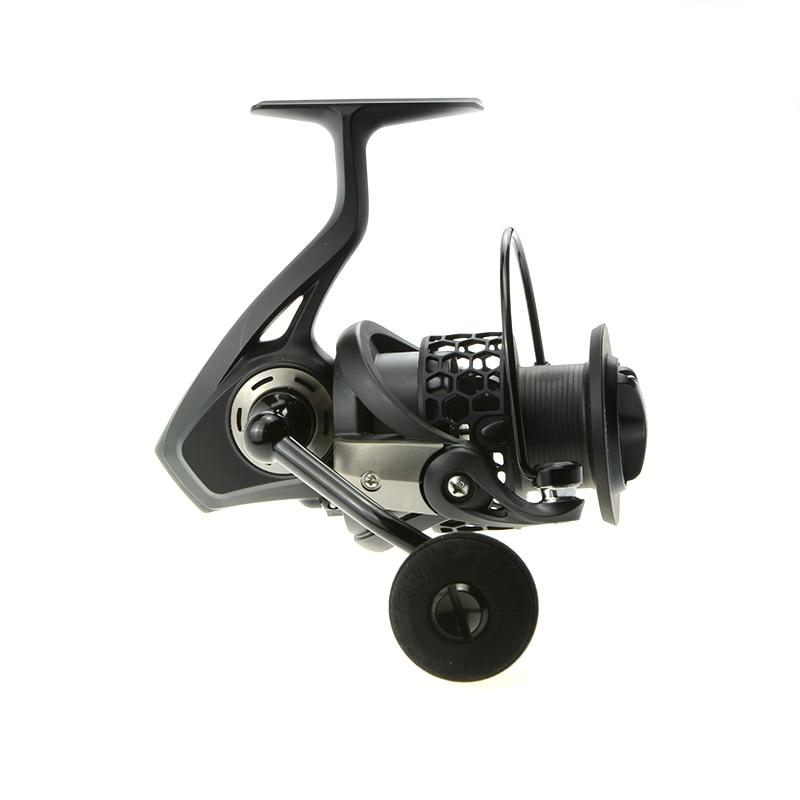 ФОТО NOEBY Spinning Reels 11+1BB 5.2:1 4.8:1 Moulinet Peche Carrete De Pesca Fishing Reel Handel Wheel Series2000 3000 4000 5000