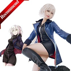 ROLECOS-Anime-FGO-Fate-Grand-Order-Cosplay-Costumes-Black-Saber-Kyrielight-Mash-Cosplay-Costumes-Costume-Leather