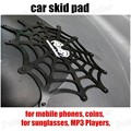 temperature resistant  Spider web shape skid pad Anti Slip Super sticky Car skid pad mat Sticky Pad Mat for Phone mp3 mp4 coins