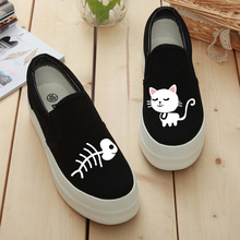 b07c5add530a4 Buy cat canvas shoe and get free shipping on AliExpress.com