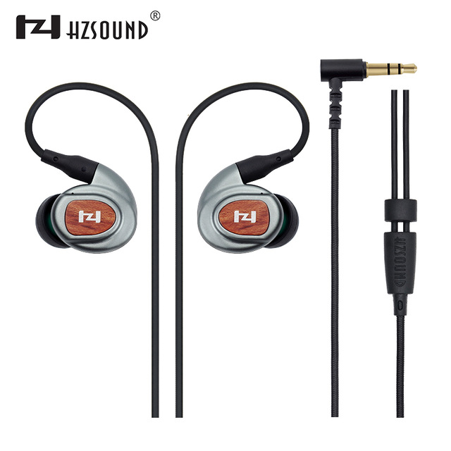HZSOUND HZ3ii Sports Earphones HiFi Inner-Ear Earphones Stereo Earphone Super Bass Around High Fidelity Professional Quality DT2