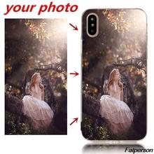 Personalized DIY Hard PC Phone Case Cover for Coque iphone X10 5 5s se 6 6s 7 8plus Printed Customized photo unique design cape
