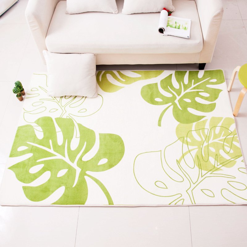 Beautiful 130X190CM Banana Leaves Carpet For Living Room Home Bedroom Rugs And Carpets Coffee Table Area