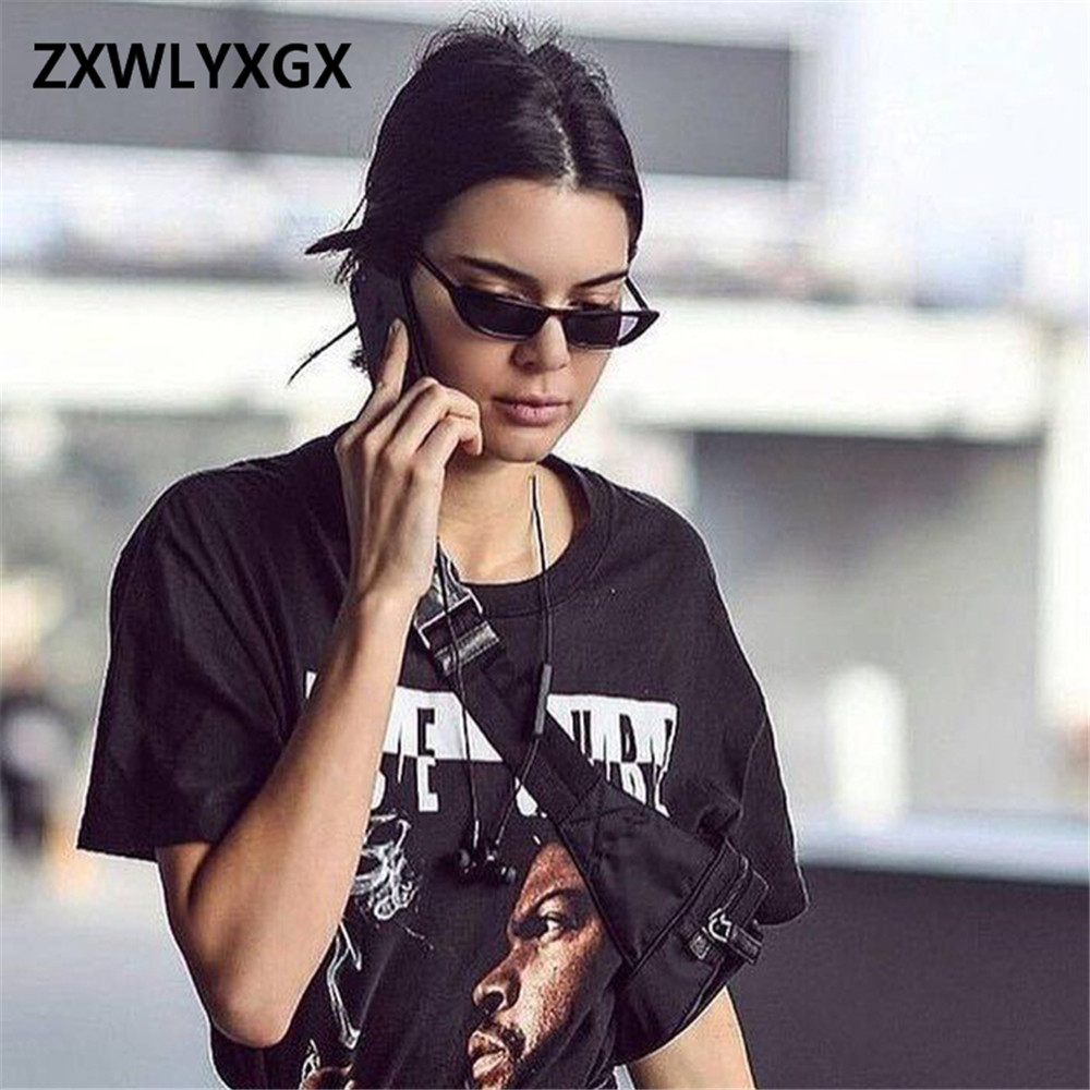 ZXWLYXGX 2020 New Fashion Style Retro Classic Cat Eye Sunglasses Women Small Rectangular Sun Glasses UV400 Oculos De Sol