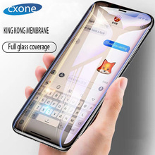 Cxone 6D Edge Protective Glass on the For iPhone 7 8 6 6S Plus Tempered Screen Protector 6s Film