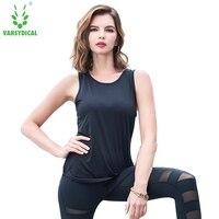 Vansydical Tops Women 2018 Tank Tops Women Summer New O Neck Sleeveless T Shirt Women O