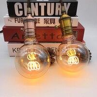 Miękkie DOPROWADZIŁY żarnik G95 żarówka Edisona antyczne 4 W możliwość przyciemniania 220 V/240 V E27