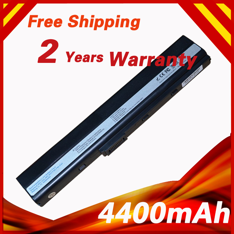 Laptop Battery A32-K52 For ASUS A31-B53 A42-K52 A31-K52 A41-K52 A42 A42D A52JB A62 K42 K52J K52JB K52JC K52 K52D K52DR K52JC new 7800mah laptop battery for asus a52 a52f a52j k52d k52dr k52f k52j k52jc k52je k52n x52j a32 k52 a42 k52