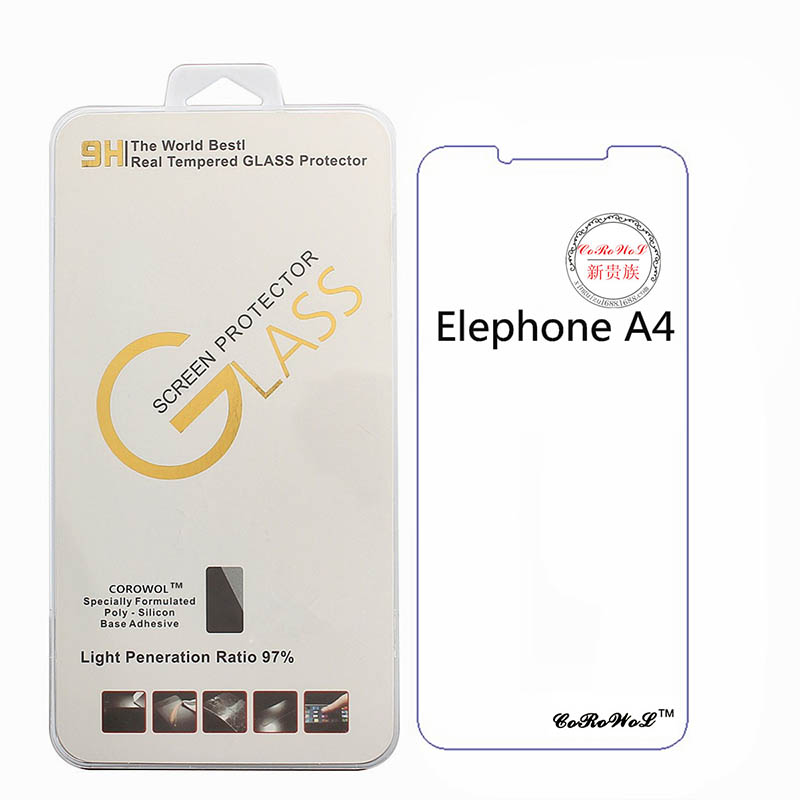 9H Premium Ultra Protective Film Explosion-proof Phone Films For Elephone A4 Screen Protector For Elephone A4 Tempered Glass