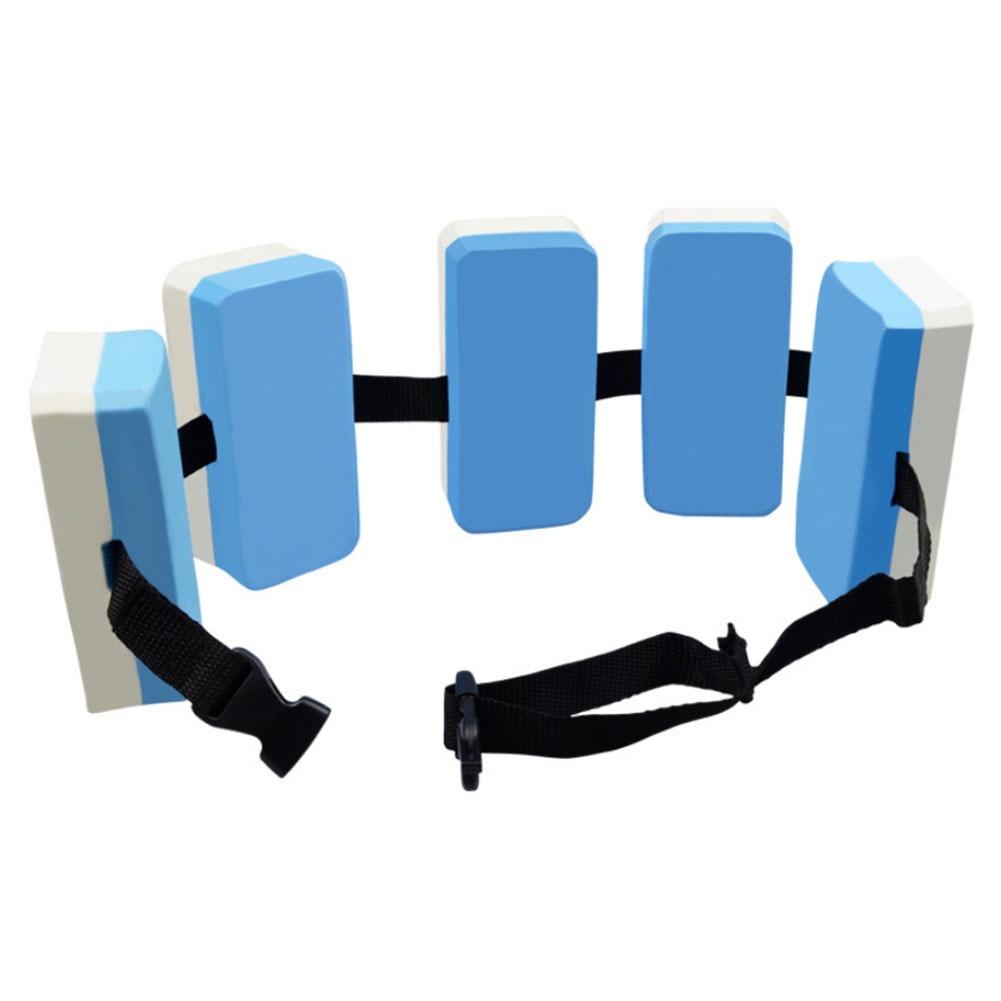 Training EVA Foam Belt Adjustable Swimming Floating Waistband For Children Outdoor Sport 1PC