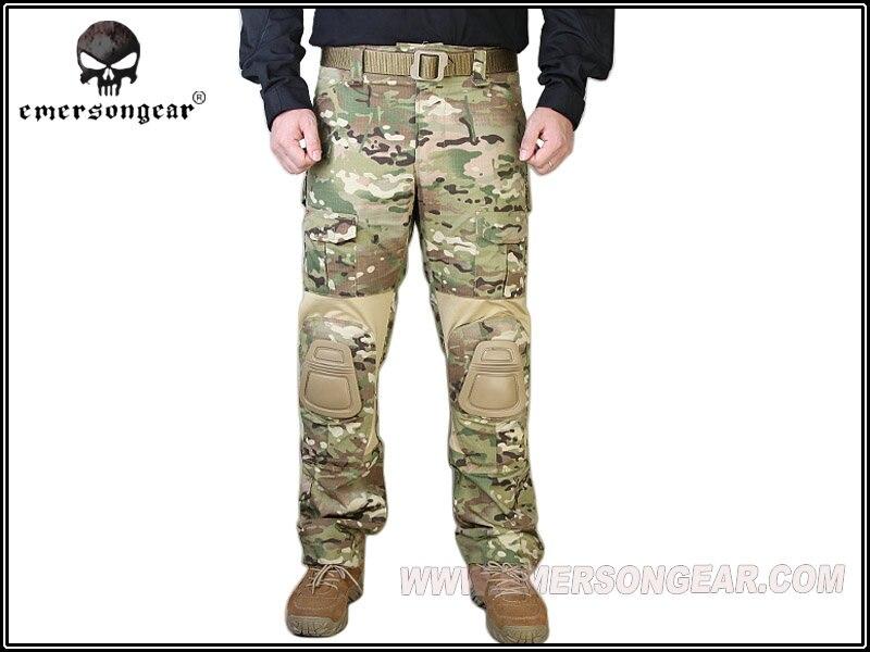 Men Military Airsoft Combat bdu Pants EMERSON Tactical Gen2 Pants with Knee Pad