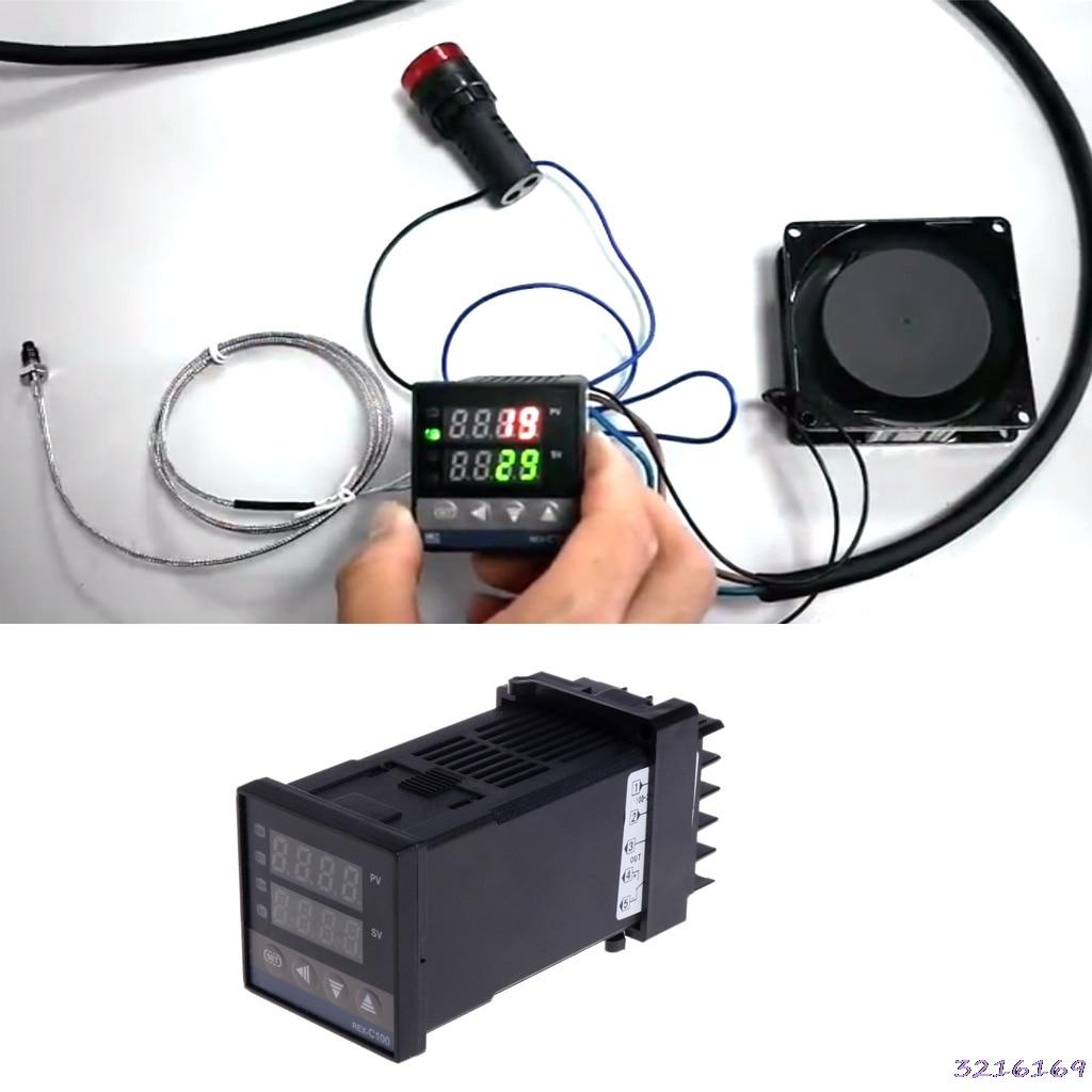 PID Digital Temperature Controller REX-C100 0 To 400C K Type Input SSR Output