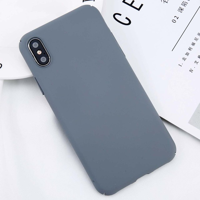 USLION-For-iPhone-X-Simple-Plain-Phone-Case-Slim-Frosted-Hard-PC-Back-Cover-For-iPhoneX.jpg_640x640.jpg
