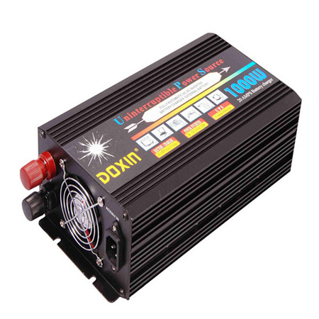 цена на Continous Power 1000W UPS Power Inverter DC12V/24V to AC220V 50HZ Modified Sine Wave Inverter With Battery Charger+UPS Function