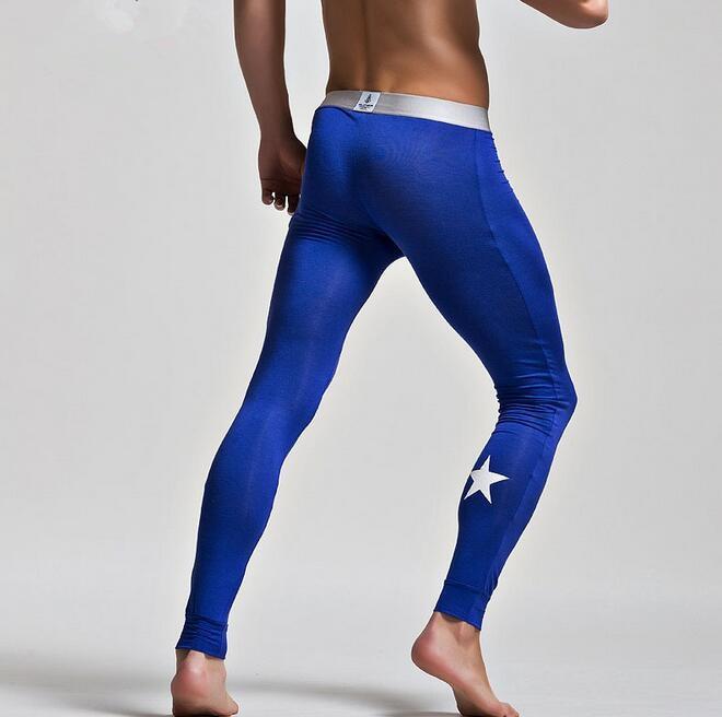 Yoga Shorts Mens Uk: Men's Heat Base Layer Thermal Legging Modal Yoga Pants
