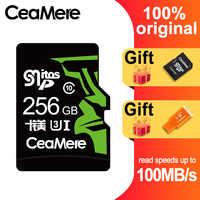 Carte mémoire CeaMere 256GB 128GB 64GB U3 UHS-3 32GB carte Micro sd Class10 UHS-1 carte mémoire flash cartes Microsd TF/SD pour tablette