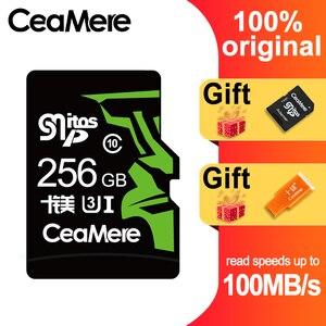 Image 1 - CeaMere 256GB 128GB 64GB Scheda di Memoria U3 UHS 3 32GB Micro carta di deviazione standard di Class10 UHS 1 flash card di memoria Microsd TF/SD CARD per Tablet